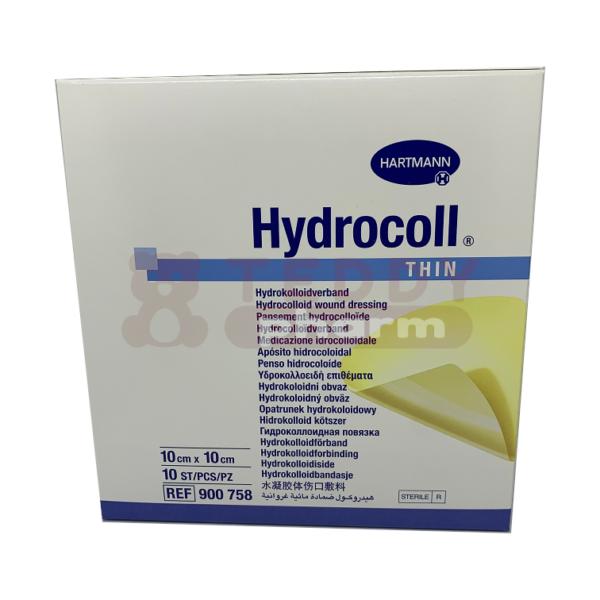 HYDROCOLL Thin 10 x 10 cm 10St.