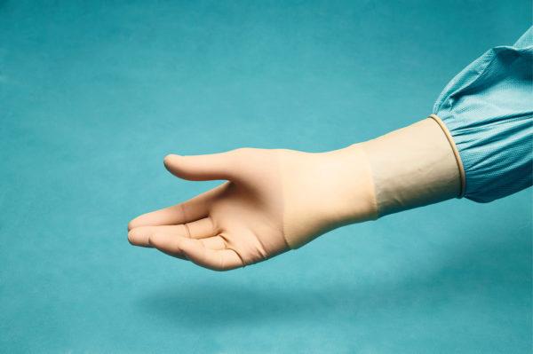 PEHA-MICRON Latex Handschuhe Gr.8