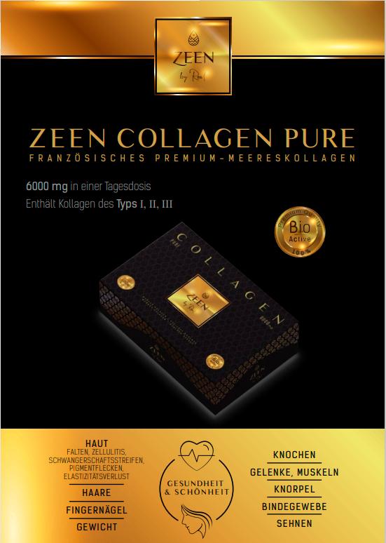 Zeen collagen cierny letak