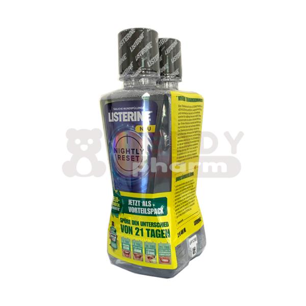 LISTERINE Nightly Reset Mundspülung 2 x 400 ml