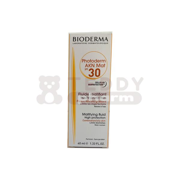 BIODERMA Photoderm AKN mat Fluid SPF 30 40ml