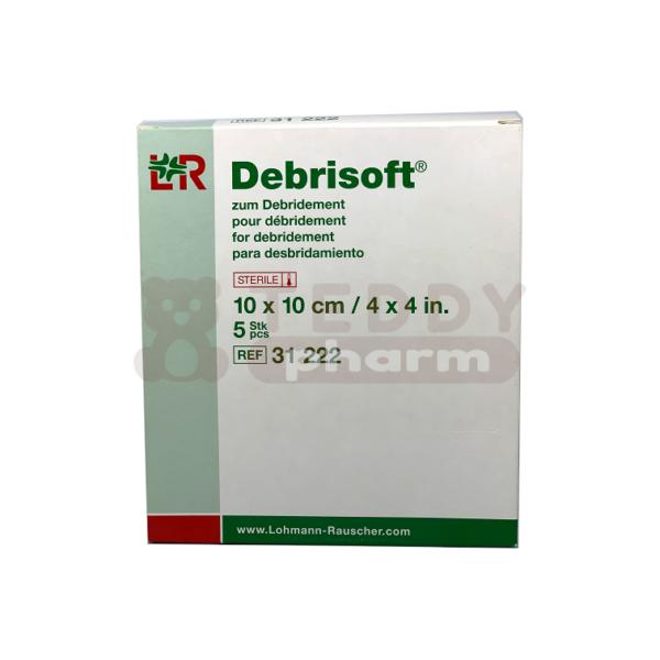 Debrisoft Kompressen 10 x 10 cm 5 Stk.