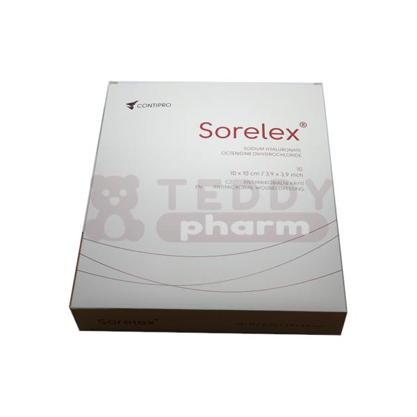 SORELEX antimikrobielle Wundauflagen 10x10cm 10Stk.