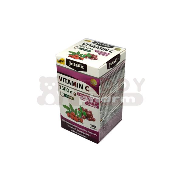 JUTAVIT Vitamin C 1500 mg