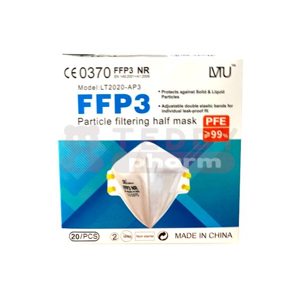 Atemschutzmaske FFP3 NR CE0370