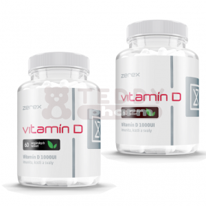 ZEREX Vitamin D 1.000 IU