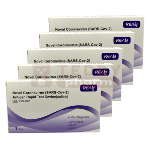 Antigen Rapid Test (SARS-Cov-2) Spucktest 5 x 1 Stk