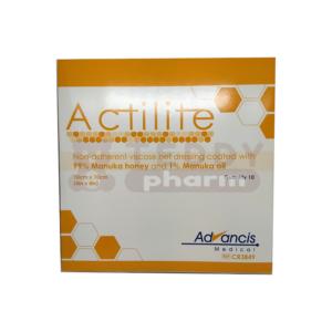 Activon® – Manuka Honig Actilite 10 x 10 cm 10 Stk.